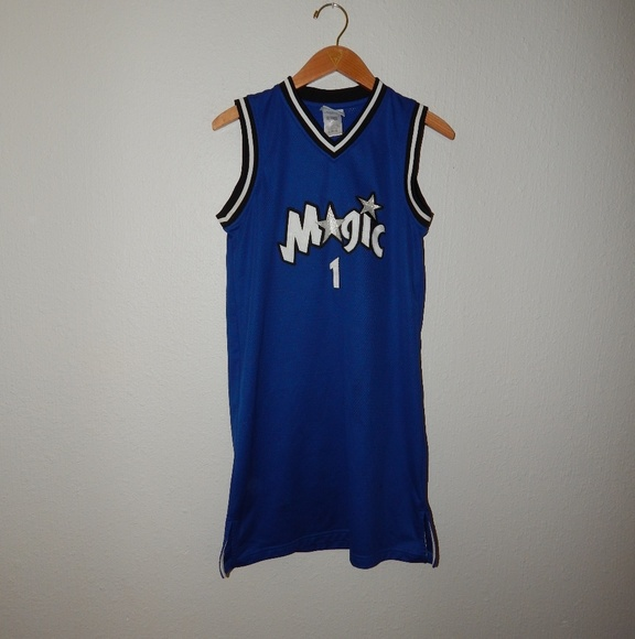 best service 6493b 6049a VTG Tracy McGrady Orlando Magic Jersey Dress